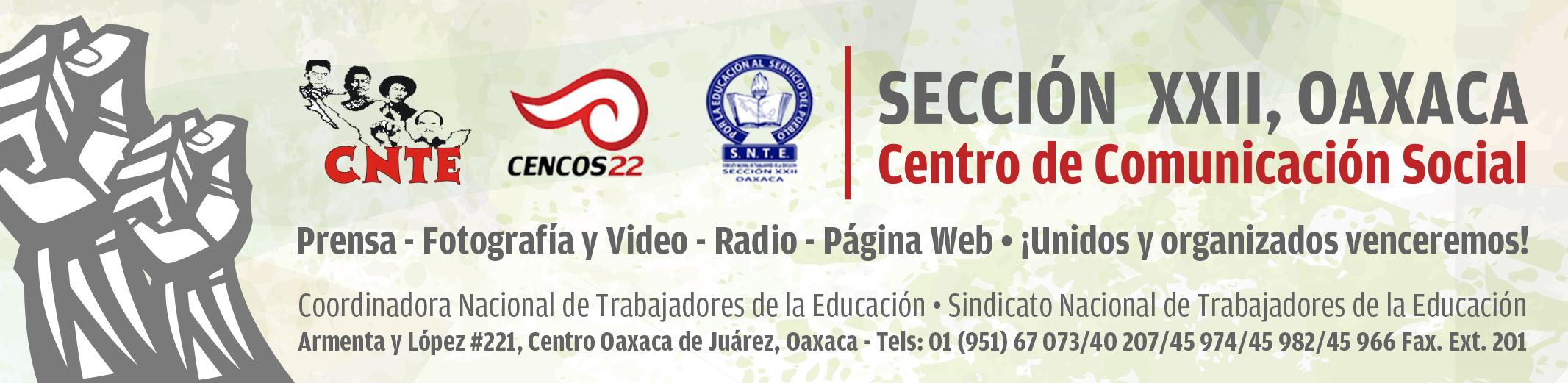 Centro de Comunicación Social de la Sección XXII