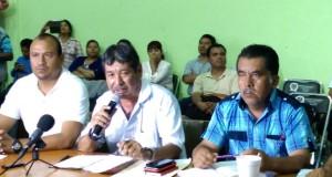 Conferencia de prensa en asamblea estatal 22 julio 2015