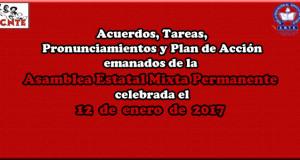 ACUERDOS Asamblea Mixta 7 enero 2017