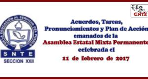 ACUERDOS Asamblea Mixta 11 febrero 2017