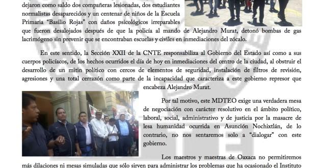 Boletín - SECCIÓN XXII SE DECLARA EN BOICOT A LOS  - 21 marzo 2017