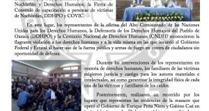 Boletín - EXIGE COVIC ANTE DERECHOS HUMANOS JUSTICIA VERDAD Y CASTIGO - 17 JUNIO 2017