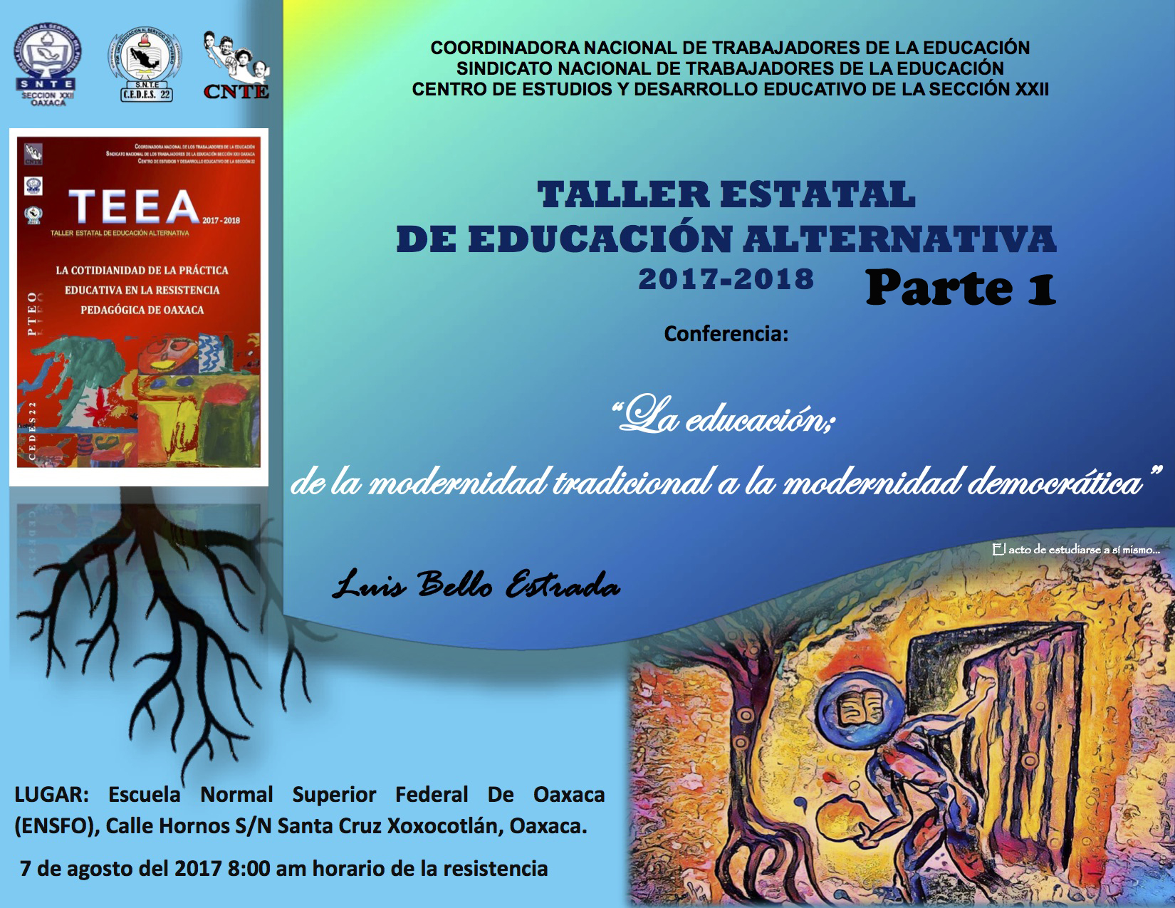 Cartel TEEA 2017 - 2018 Parte 1 copy