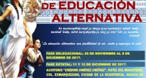 CARTEL VI Congreso Estatal de Educación Alternativa noviembre 2017